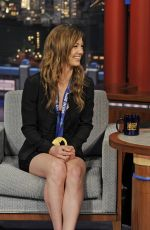Kaitlyn Farrington At Late Show With David Letterman