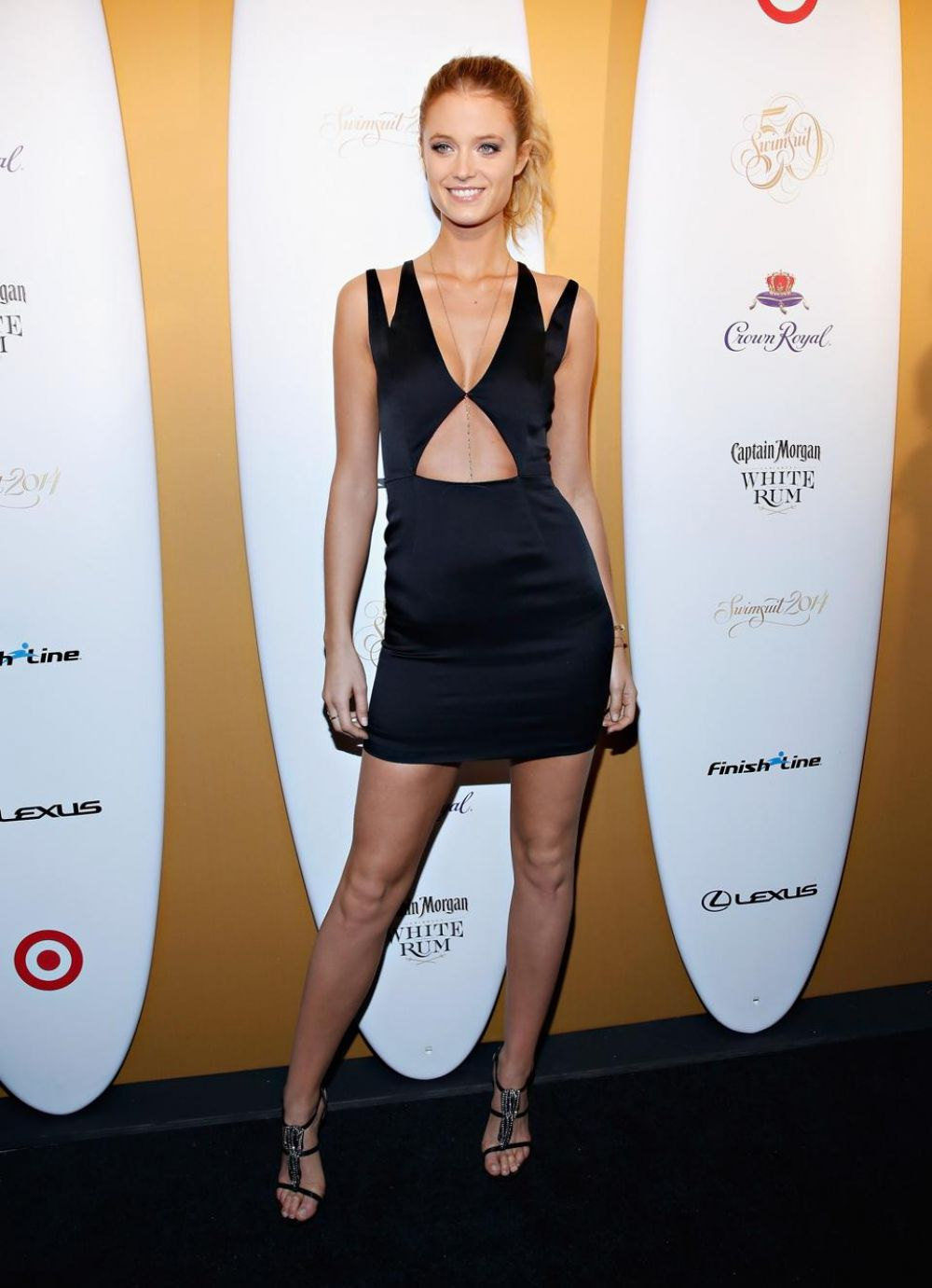 Kate Bock At Sports Illustrated Swimsuit 50 Years Of Swim Celebration