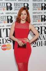 Katy B At The BRIT Awards 2014 At The 02 Arena In London