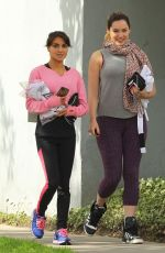 Kelly Brook With A Friend Out In LA