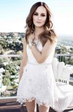 Leighton Meester At Nelly Shop Photoshoot 2013