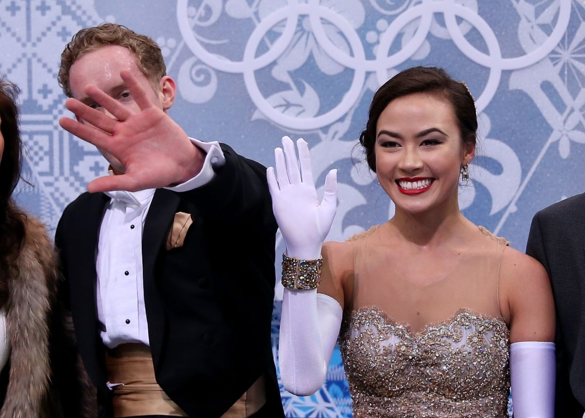 Madison Chock At 2014 Sochi Winter Olympics - Celebzz ... Jennifer Aniston