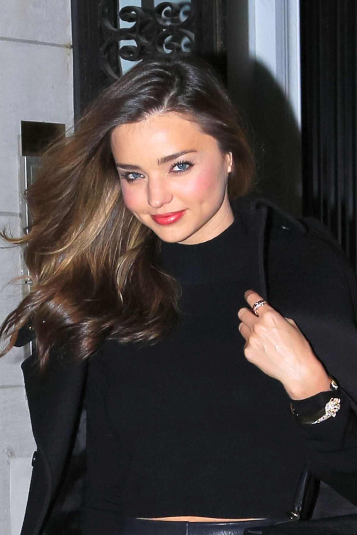 Miranda Kerr Seen Heading Out In New York City