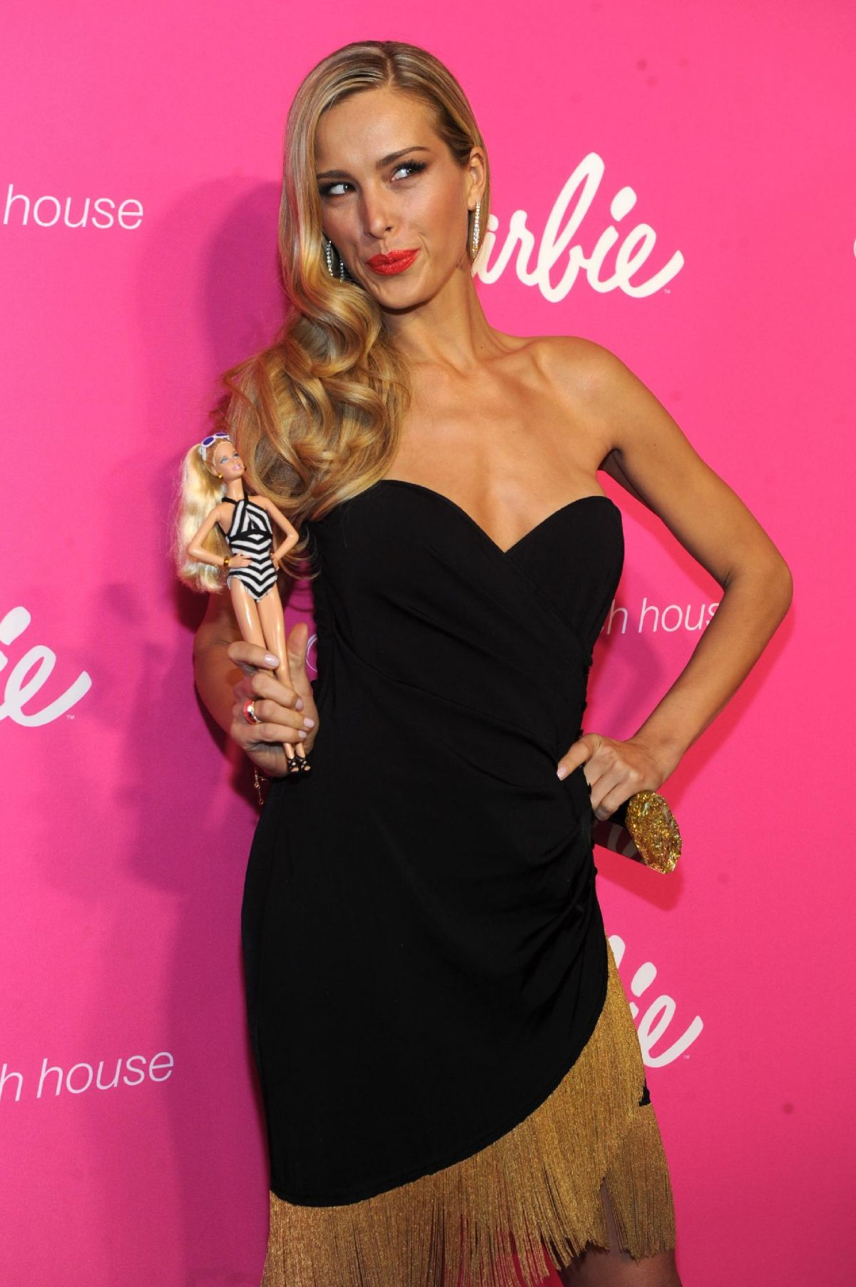 Petra Nemcova At Sports Illustrated Swimsuit 50th Anniversary Party
