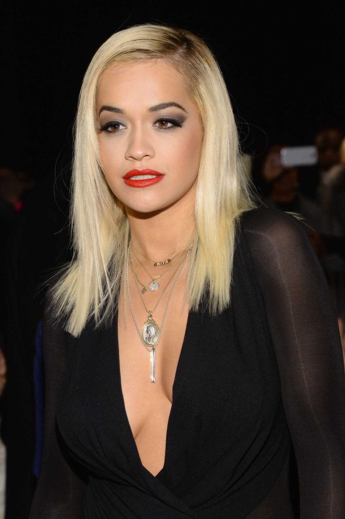 Rita ora at donna karan new york fashion show in nyc celebzz for Donna karen new york