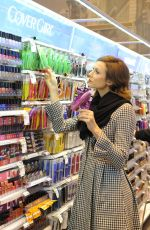 Stacy Keibler At A Duane Reade Drug Store In Soho NYC