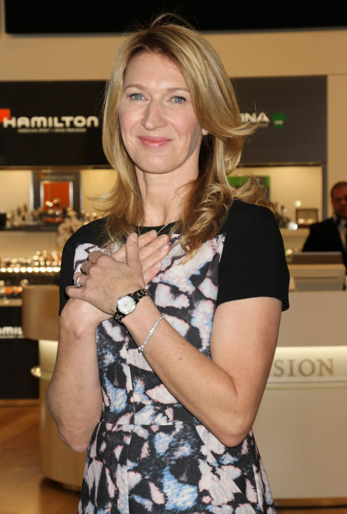 Steffi Graf Hosted Hour Passion Boutique Grand Opening In Las