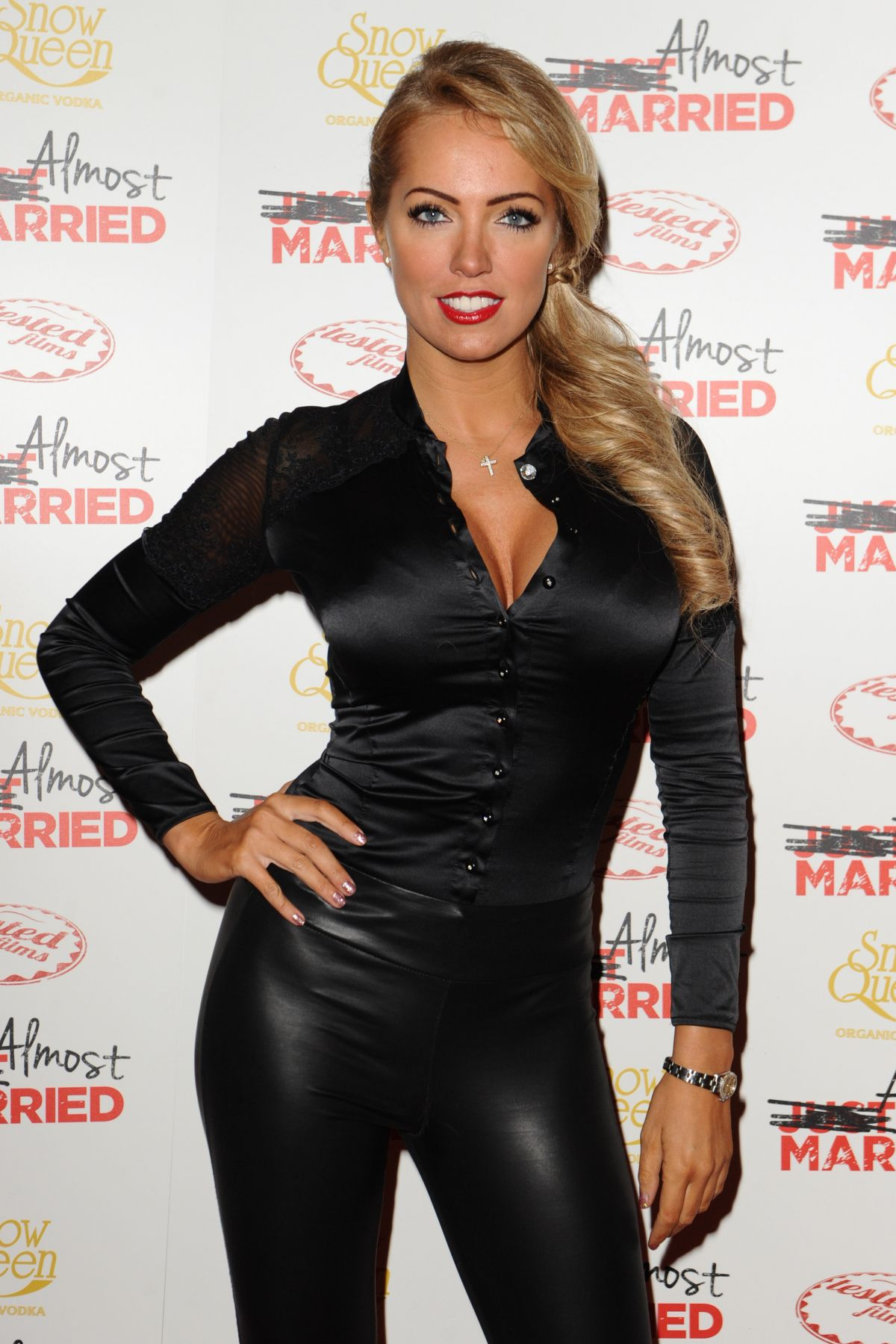 Aisleyne Horgan-Wallace Showing Of Almost Married In London
