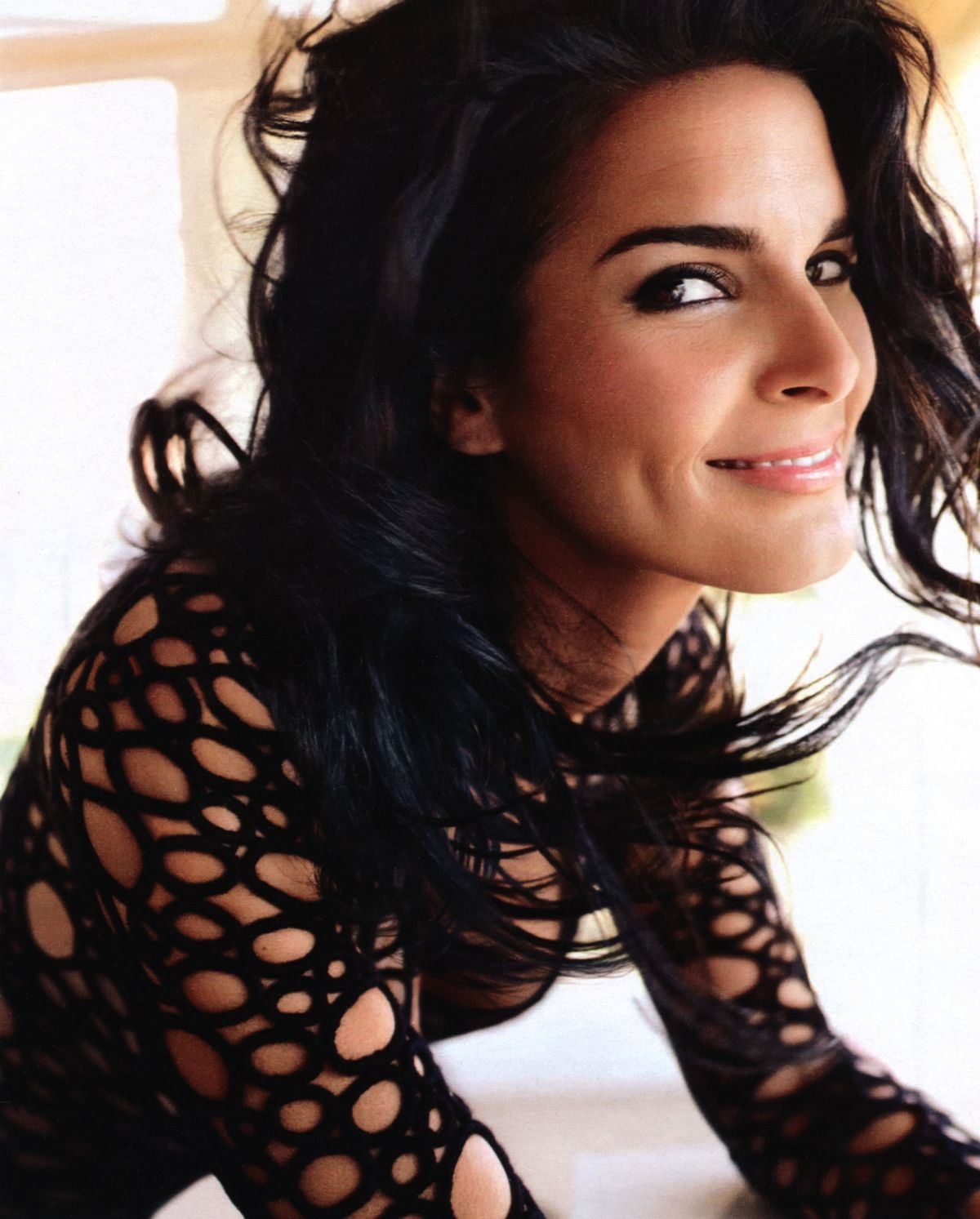 angie harmon interview