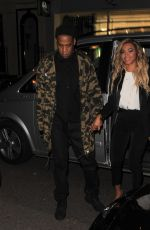 Beyonce And Jay Z Leaving The Arts Club In London