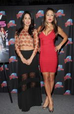 Brianna & Stephanie Garcia Promoting Their E! series At Planet Hollywood Times Square