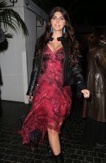 Brittny Gastineau Leaving The Chateau Marmont In Los Angeles