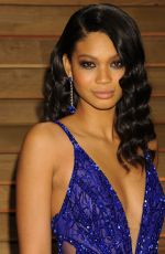 Chanel Iman At Vanity Fair Oscar Party