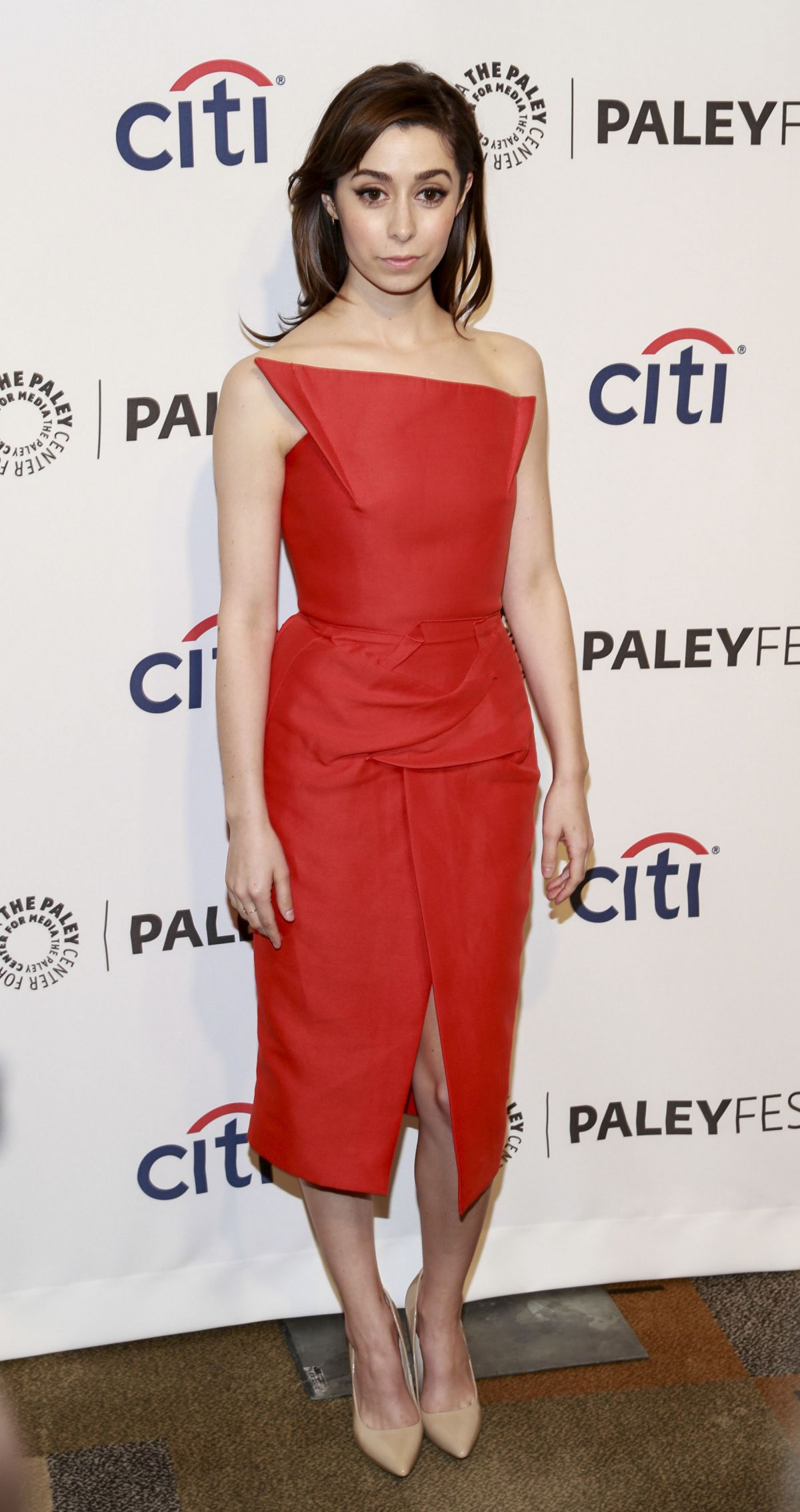 Cristin Milioti At The PaleyFest An Evening With HIMYM In Beverly Hills