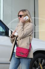 Diane Kruger Leaving Andy LeCompte Hair Salon In West Hollywood