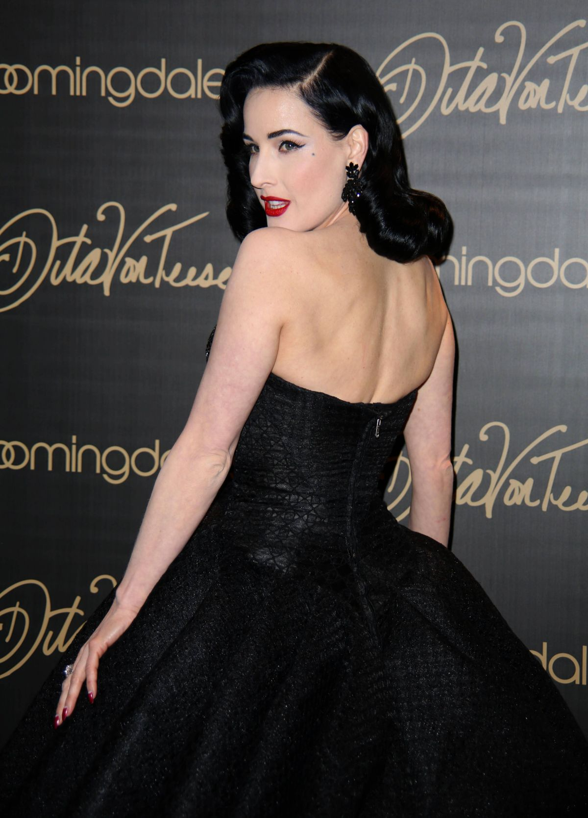 9cc6ac15013 Dita Von Teese Launching Her Lingerie Line At Bloomingdales NYC ...