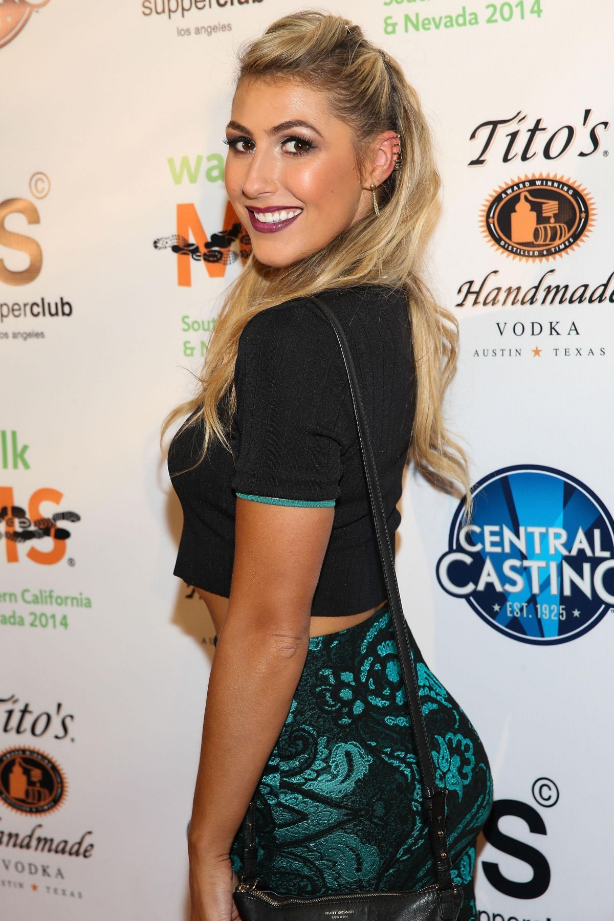 Emma Slater At The LA Celebrity MS Walk Kick Off Event In LA