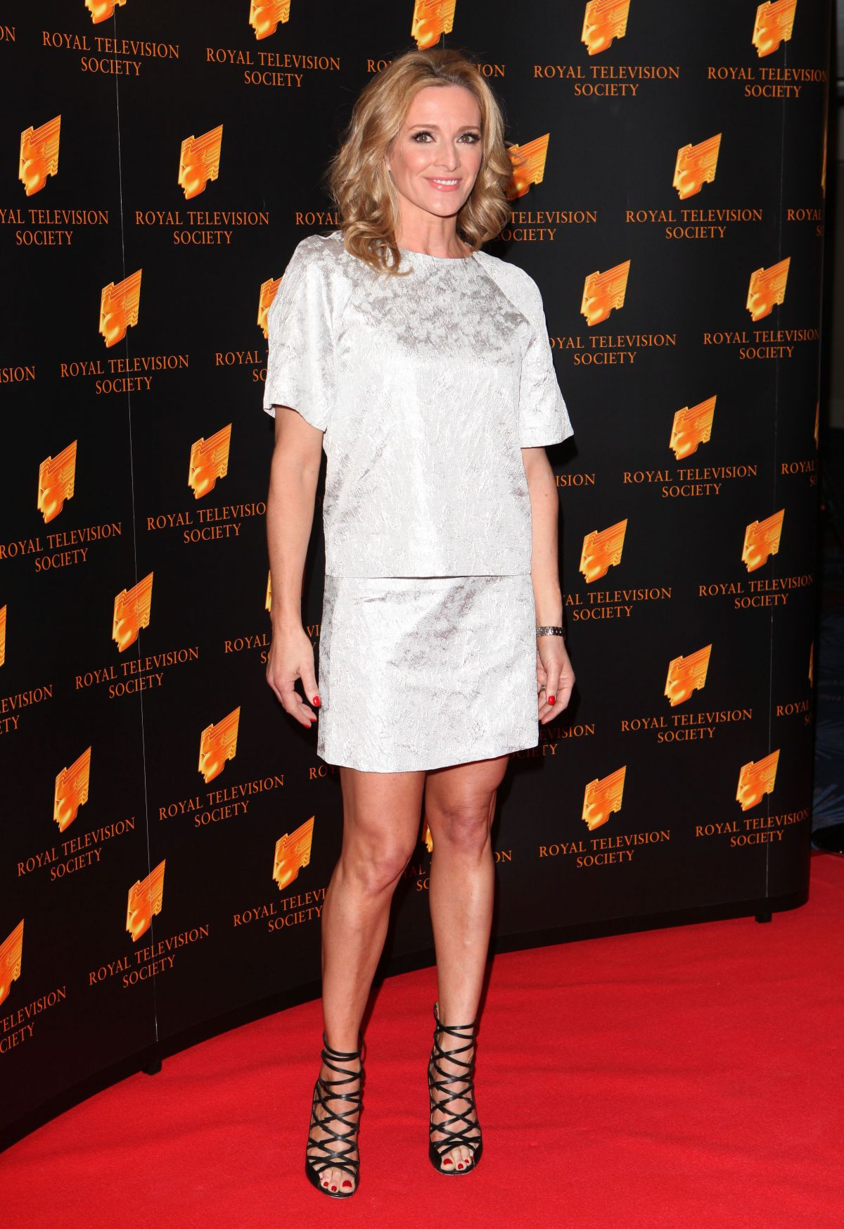 gabby logan at rts programme awards in london   celebzz