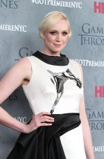 """Gwendoline Christie At """"Game Of Thrones"""" Fourth Season Premiere In NYC"""
