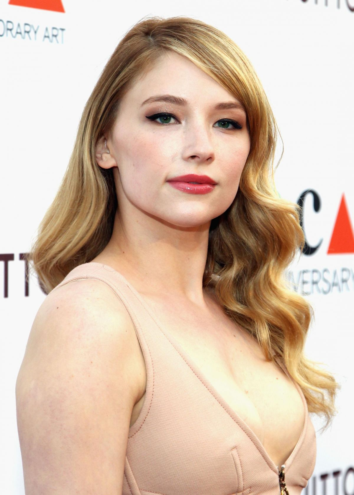 Haley Bennett At MOCA