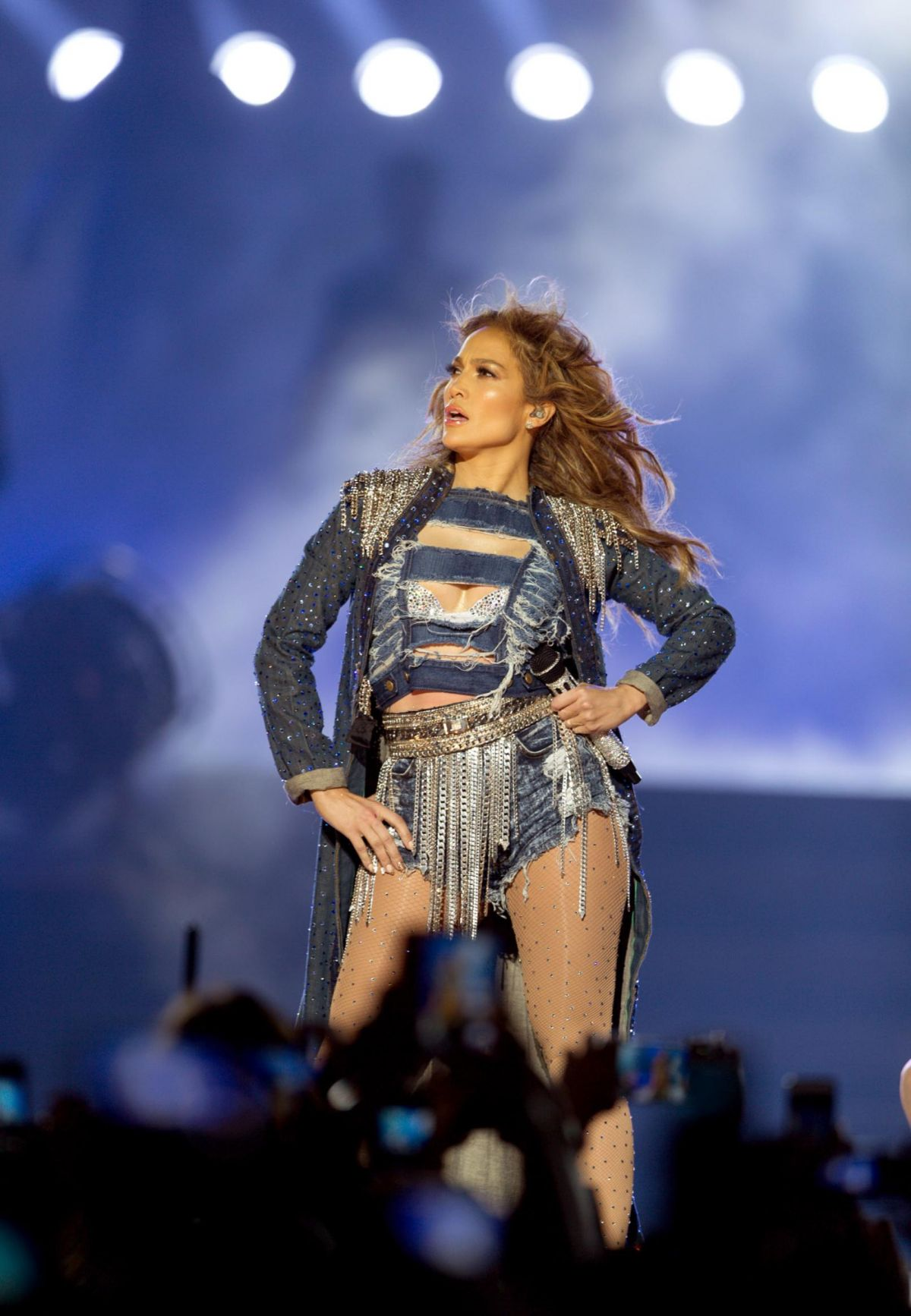 Jennifer Lopez Performing Live At The Meydan Racecourse In
