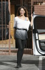 Karina Smirnoff Seen Arriving To Dancing With The Stars Rehearsals In Hollywood