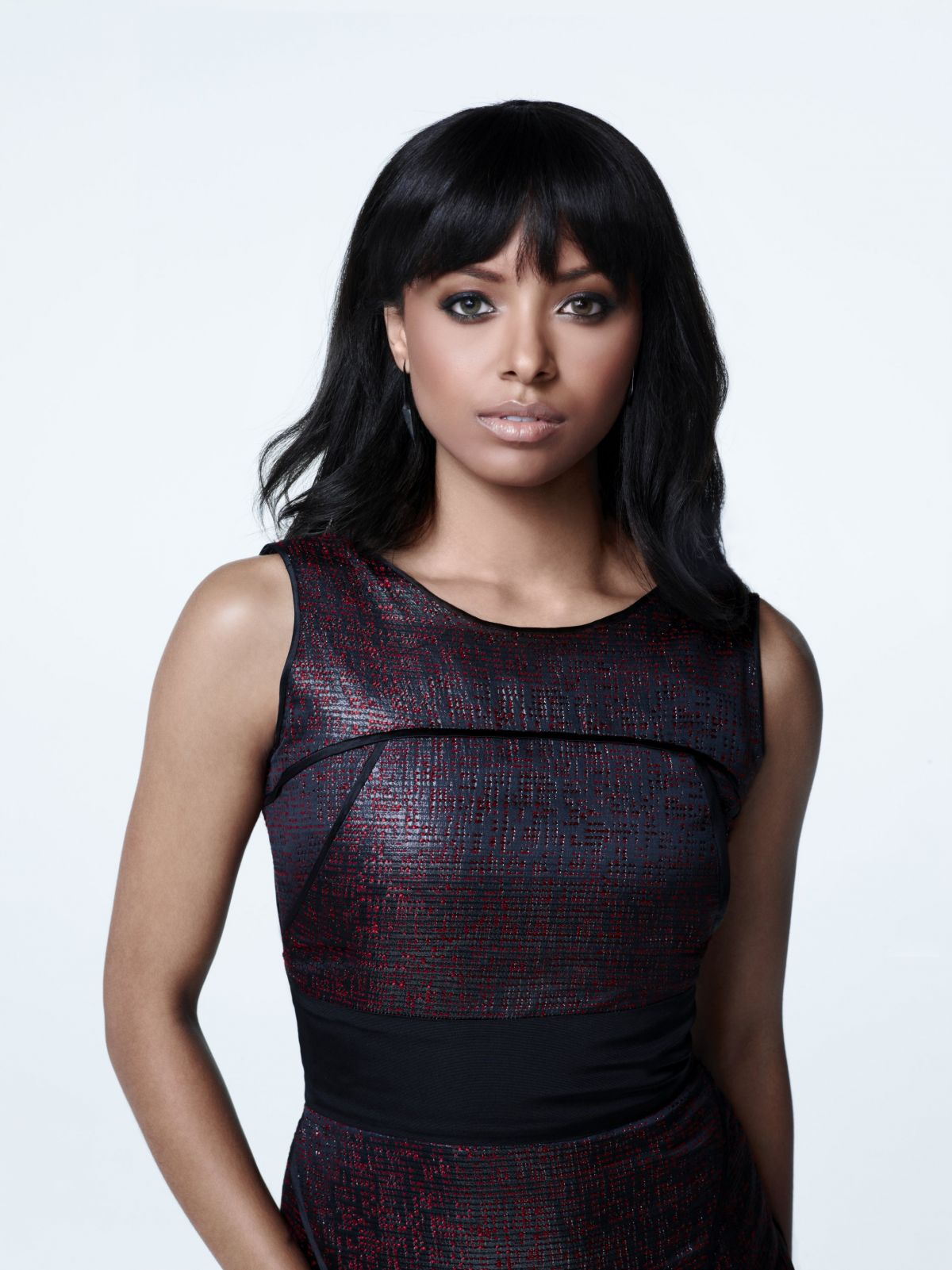 kat graham at the vampire diaries season 5 celebzz celebzz