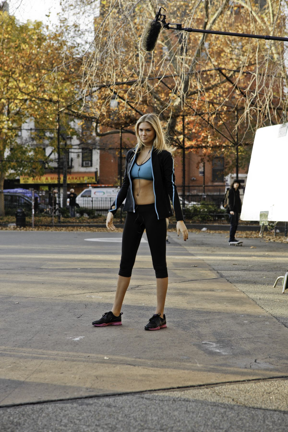 Kate Upton Behind The Scenes Of Zoo York Commercial
