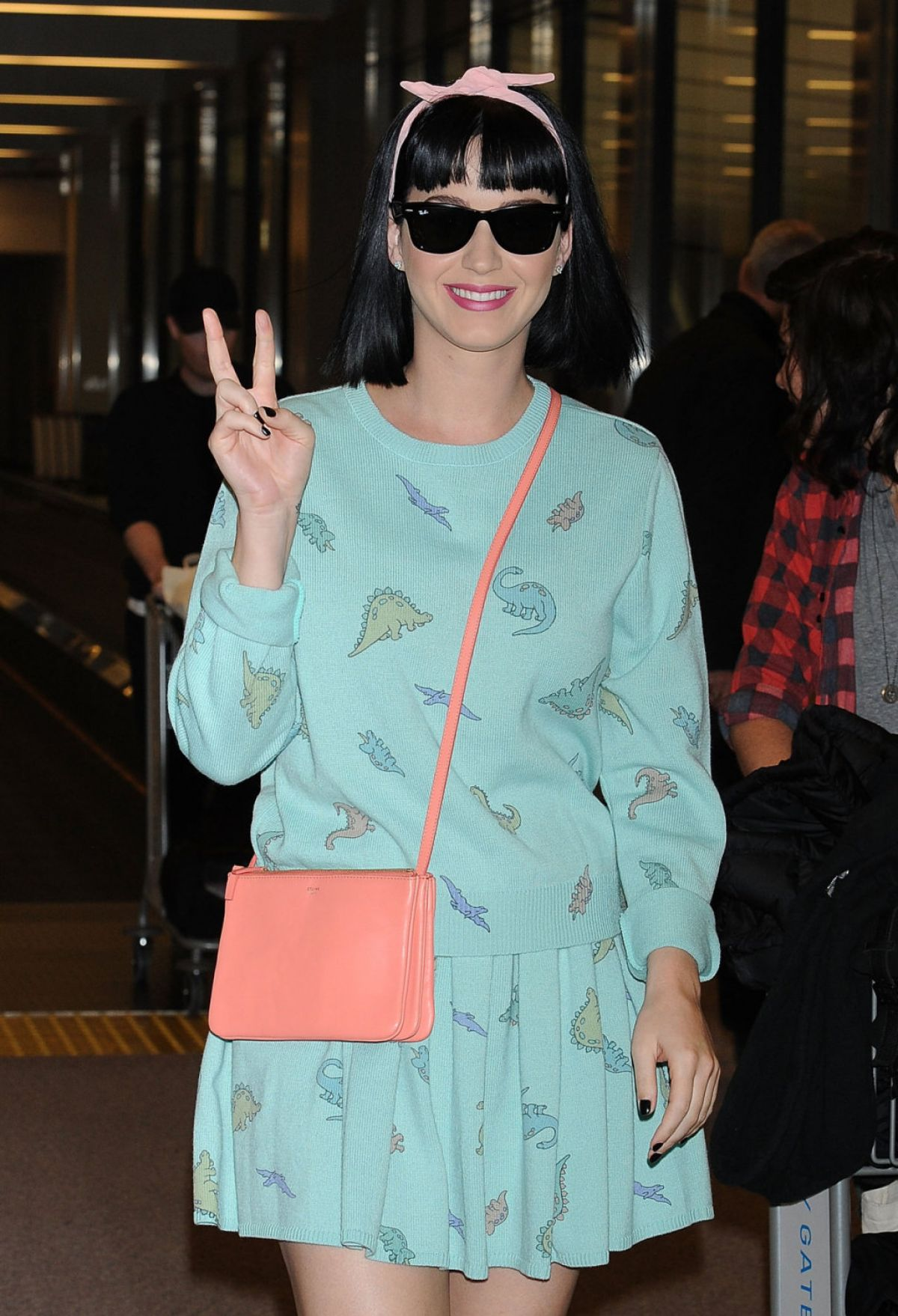 Katy Perry Arriving At Narita International Airport In Tokyo
