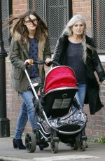 Keira Knightley Out And About In London