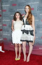 "Maisie Williams At ""Game Of Thrones"" Fourth Season Premiere In NYC"