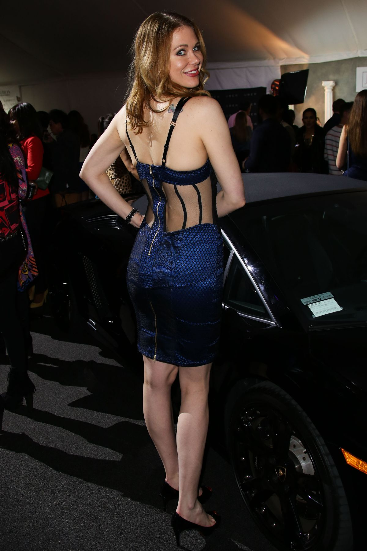 Maitland Ward At Style Fashion Event In La Celebzz