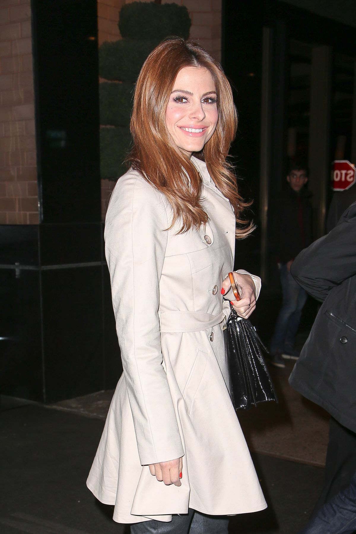 Maria Menounos At A Night Out In New York City