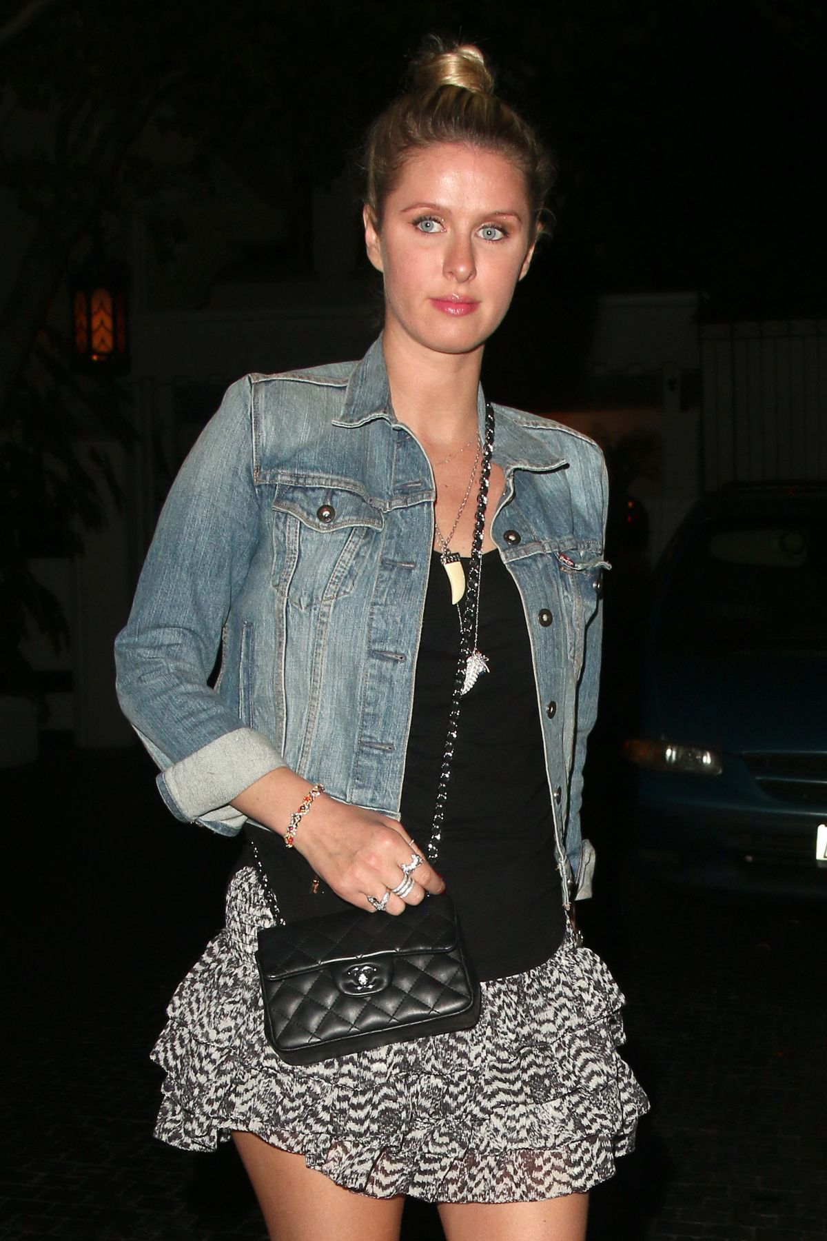 Nicky Hilton Leaving The Chateau Marmont In Los Angeles