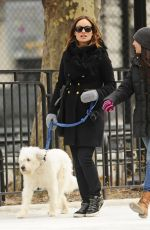 Olivia Wilde Out For A Walk In New York City