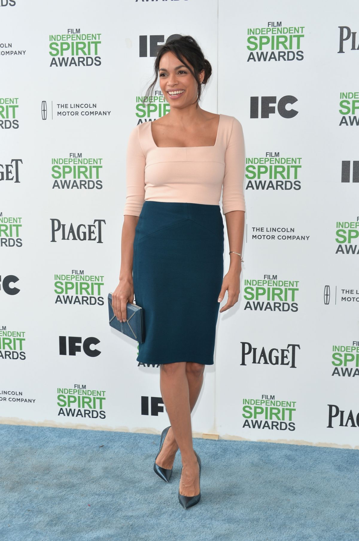 Rosario Dawson At 2014 Film Independent Spirit Awards In Santa Monica
