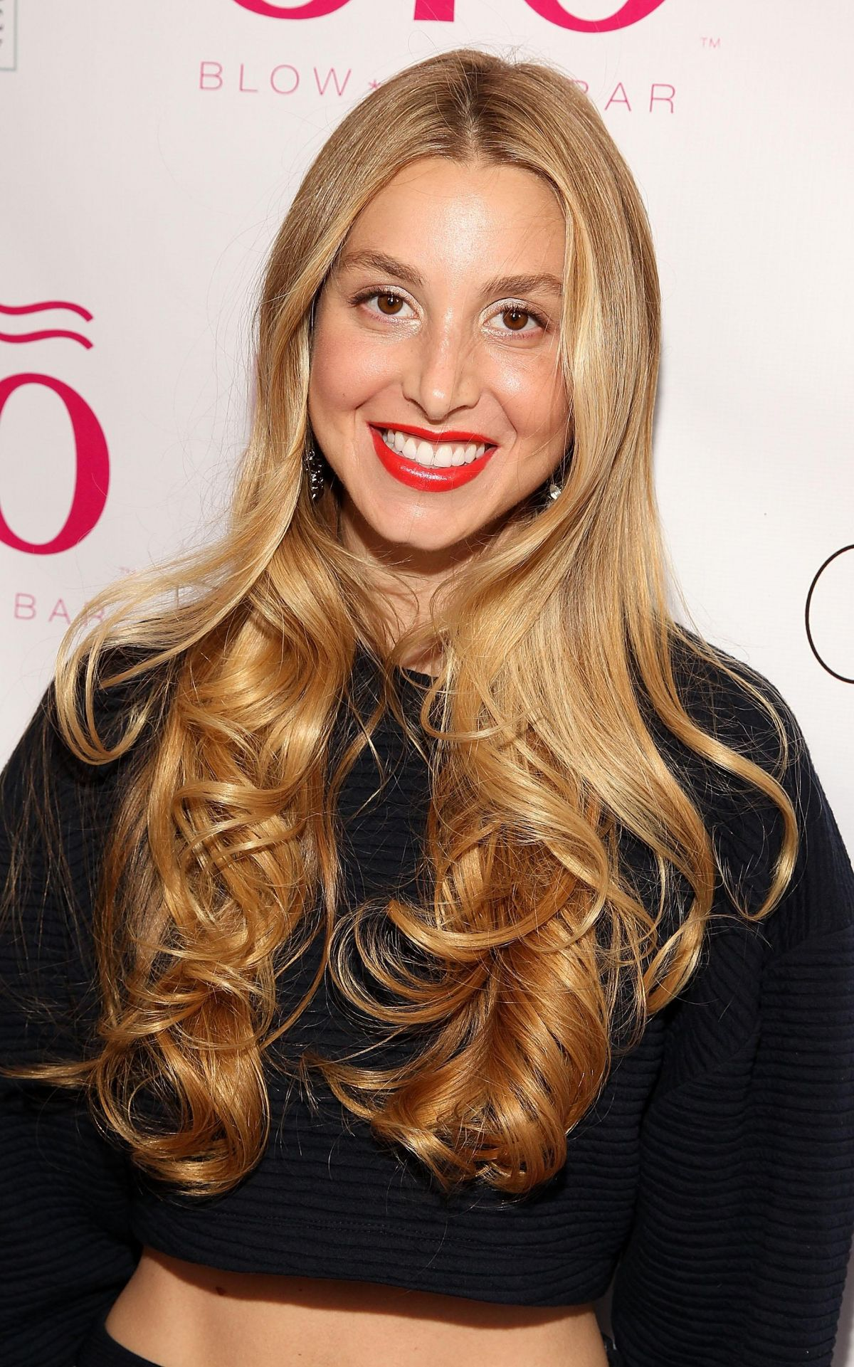 Whitney Port At Blo Blow Dry Bar