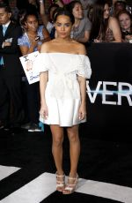 Zoe Kravitz At Divergent Los Angeles Premiere