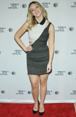Abby Elliot At Life Partners Premiere At The Tribeca Film Fest In NY