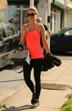 Alex Gerrard Out And About In Liverpool