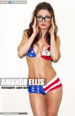 Amanda Ellis At Aqstrashot March 2014