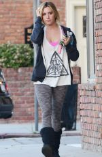 Ashley Tisdale Out And About In Studio City