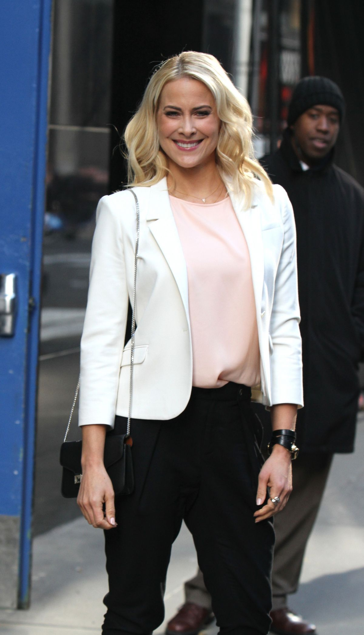 Brittany Daniel At Good Morning America In NYC