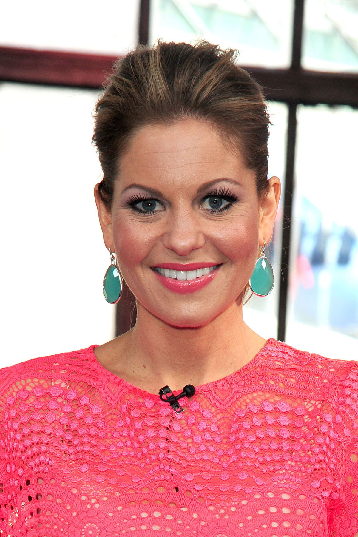 Candace Cameron Bure At The Big Morning Buzz Show In Nyc