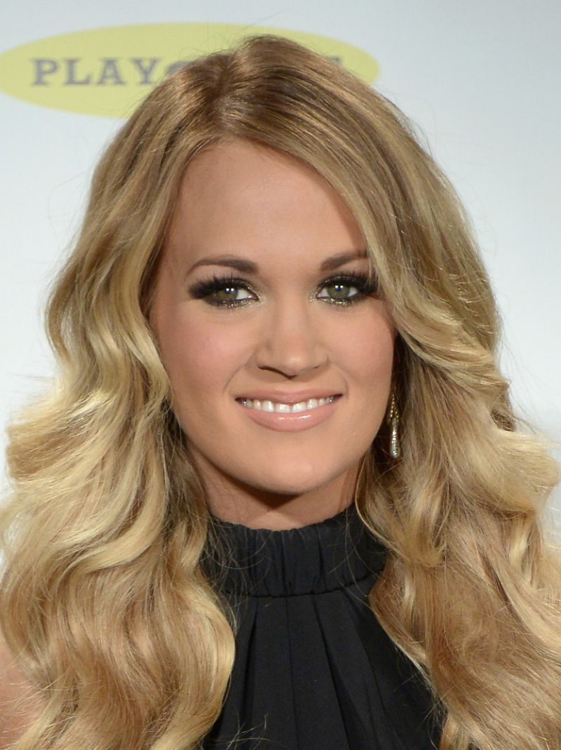 Carrie Underwood At 29th Annual Rock And Roll Hall Of Fame Induction Ceremony In NYC