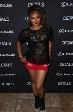 Christina Milian At Details Midnight Party In Bermuda Dunes