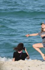 Dree Hemingway Enjoying A Sun Soaked Day At Miami Beach