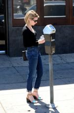 Emma Roberts Shopping In West Hollywood