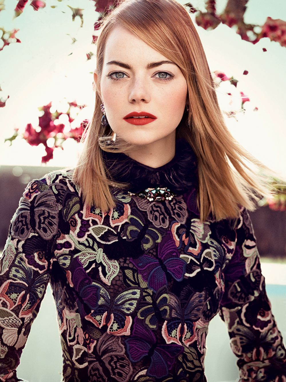 Emma Stone At Craig McDean Photoshoot For 'Vogue' May 2014 ...