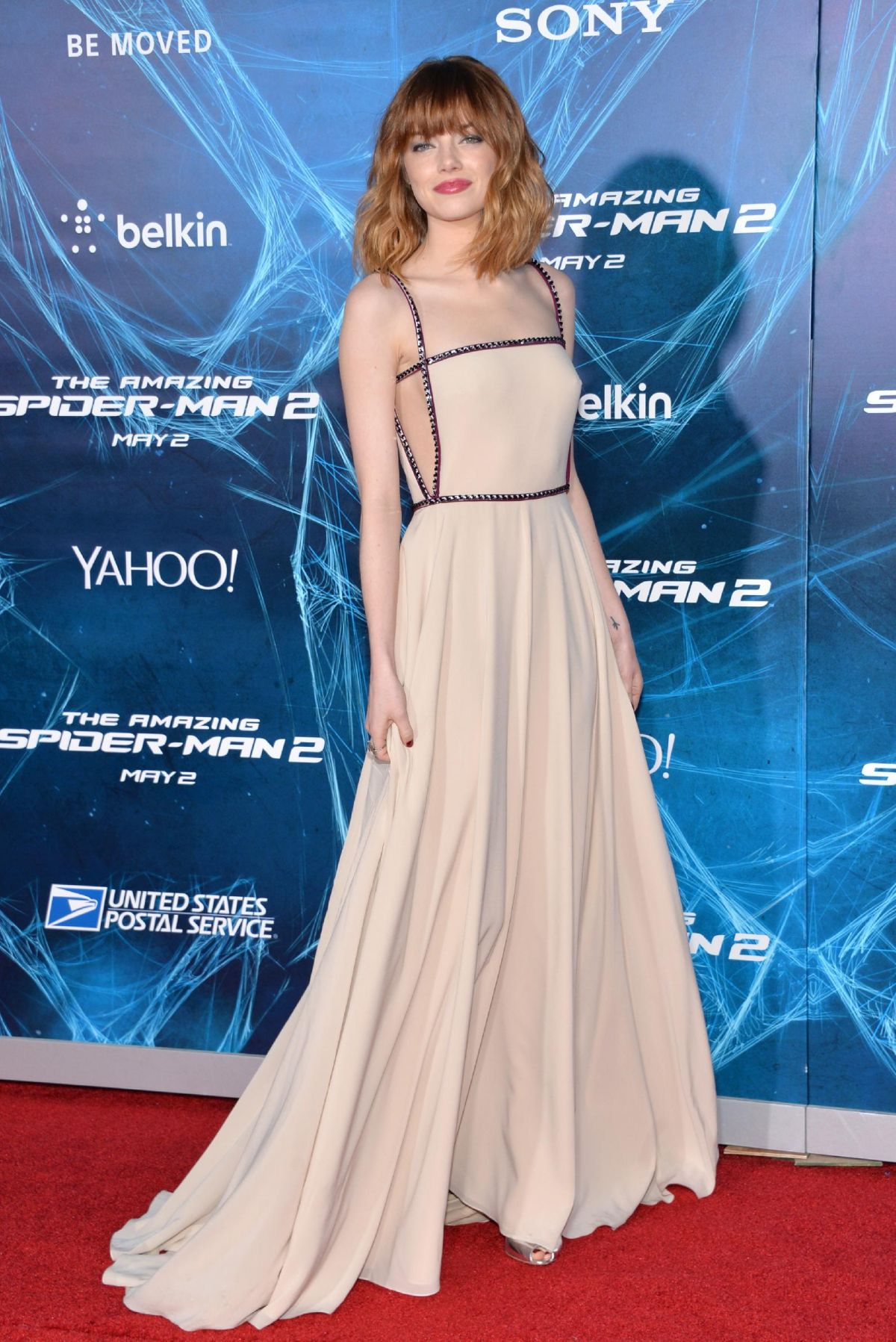 """Emma Stone At """"The Amazing Spider-Man 2"""" Premiere In NY"""
